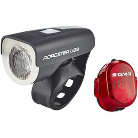 SIGMA SPORT Roadster Beleuchtungsset USB/Nugget II